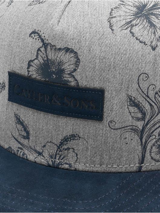 Cayler & Sons Snapback Cap CL Vibin blau