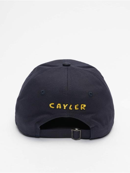Cayler & Sons Snapback Cap WL Big Lines Curved blau