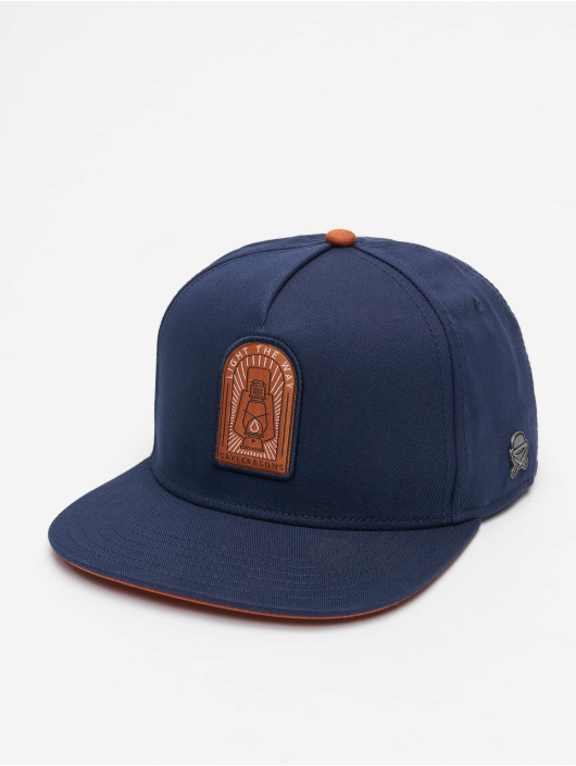 Cayler & Sons Snapback Cap CL Light The Way blau