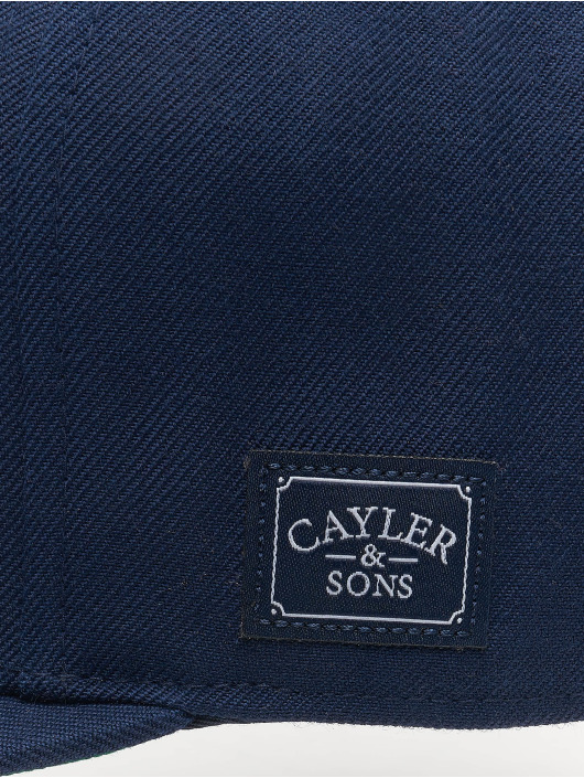 Cayler & Sons Snapback Cap Wl Dolla Billy blau