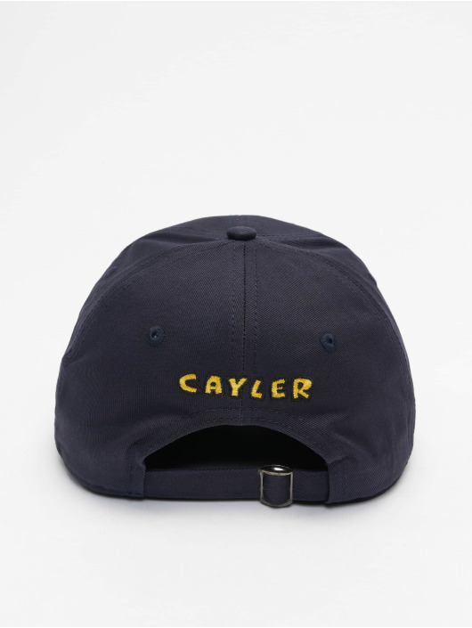 Cayler & Sons Snapback Cap WL Big Lines Curved blue