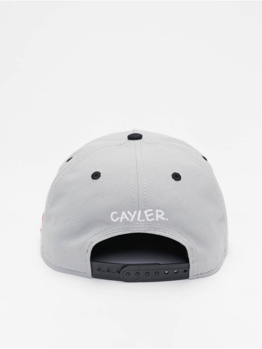 Cayler & Sons Snapback Cap Wl Savings grau