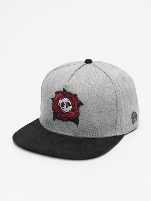 Cayler & Sons Snapback Cap CL Death Rose gray