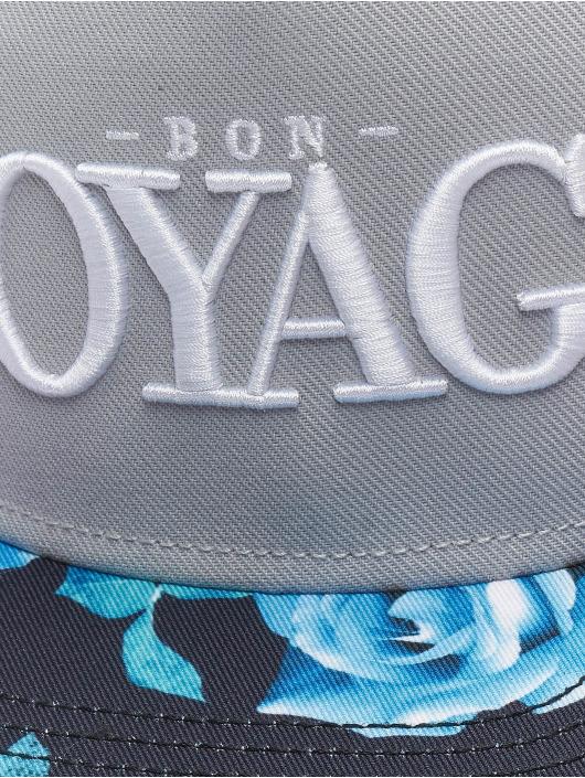 Cayler & Sons Snapback Cap Bon Voyage grey