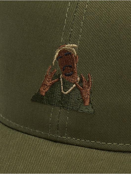 Cayler & Sons snapback cap WI 2pac Rollin olijfgroen
