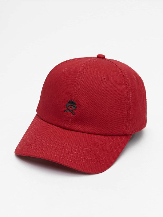 Cayler & Sons Snapback Cap PA Small Icon Curved red