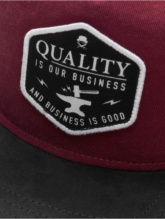Cayler & Sons Snapback Cap CL Our Business red