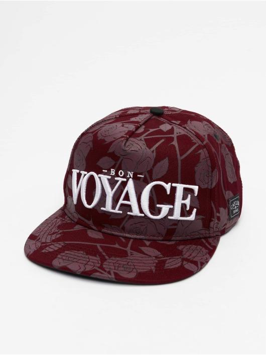Cayler & Sons Snapback Cap WL Bon Voyage Roses rot
