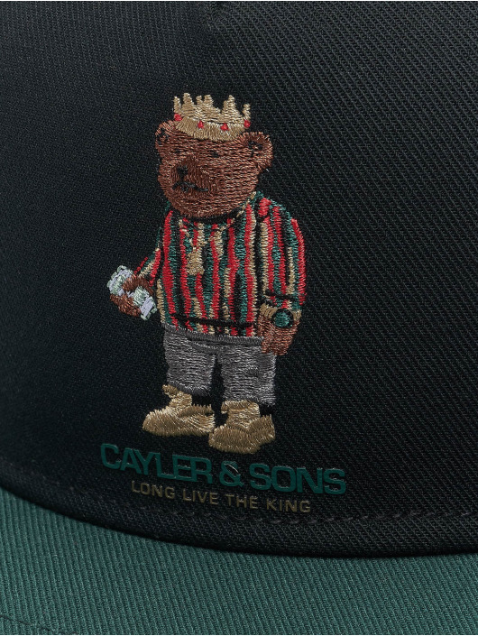 Cayler & Sons Snapback Cap WL Bedstuy schwarz