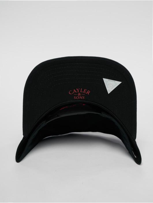 Cayler & Sons Snapback Cap Wl Bk Flight schwarz