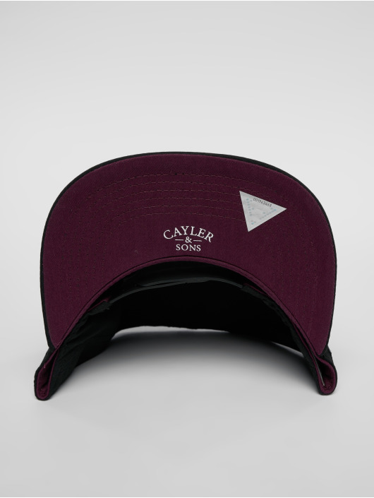 Cayler & Sons Snapback Cap C&s Wl Drop Out schwarz