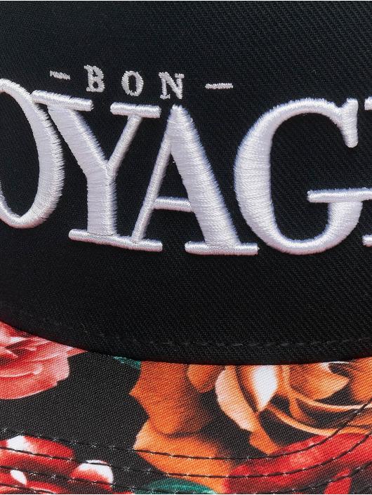 Cayler & Sons Snapback Cap Bon Voyage schwarz