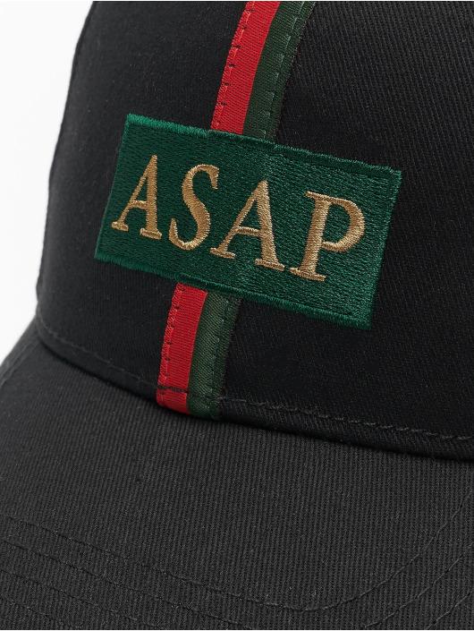 Cayler & Sons Snapback Cap ASAP Curved schwarz