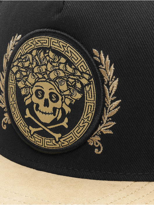 Cayler & Sons Snapback Cap WL Badusa schwarz