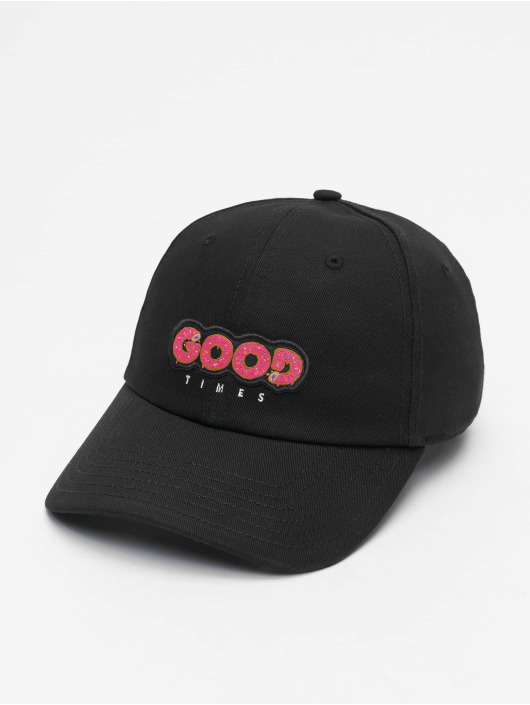 Cayler & Sons Snapback Cap WL Munchies Times Curved schwarz