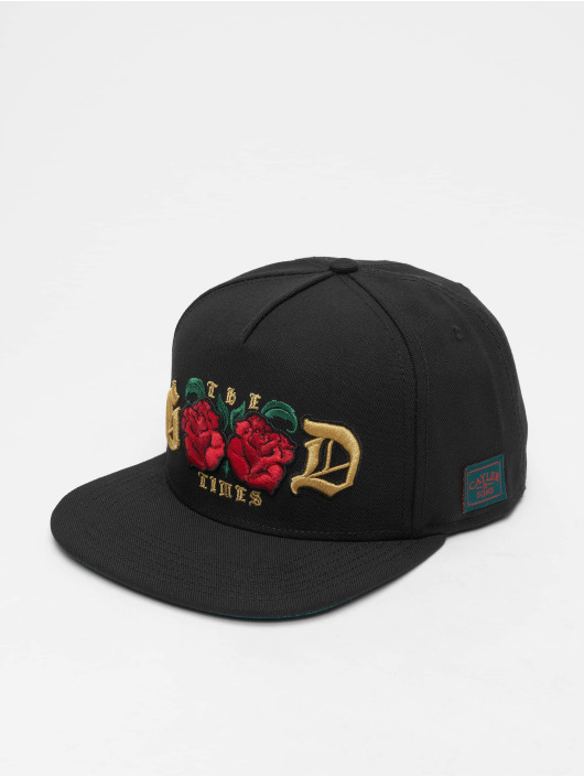 Cayler & Sons snapback cap Wl Royal Time zwart