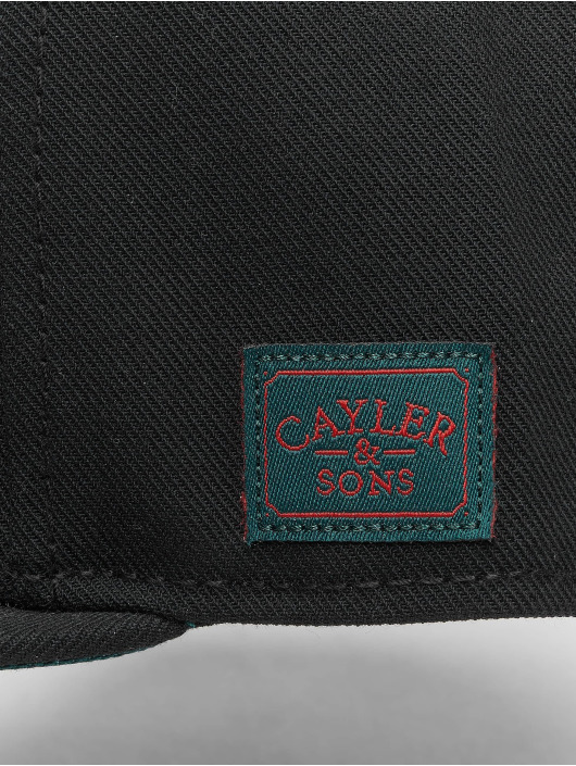 Cayler & Sons snapback cap Wl Royal Time zwart