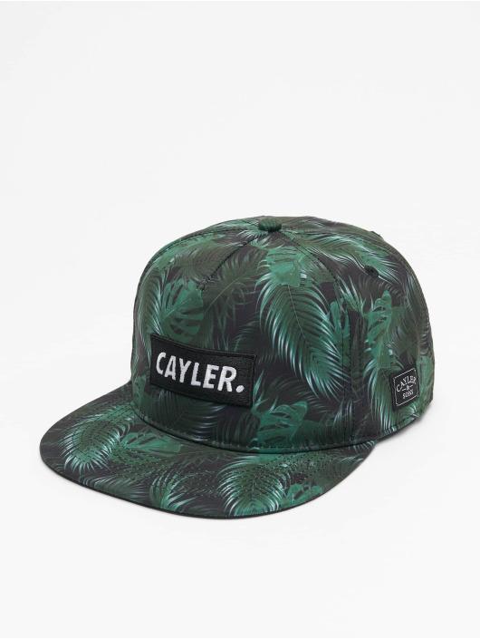 Cayler & Sons snapback cap Green Jungle zwart