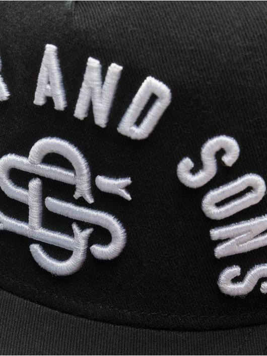 Cayler & Sons snapback cap Raw Pleasures zwart