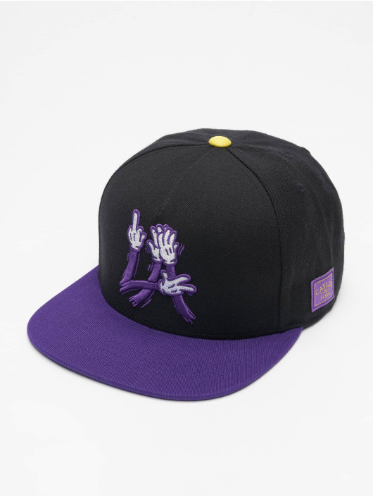 Cayler & Sons snapback cap WL La FC zwart
