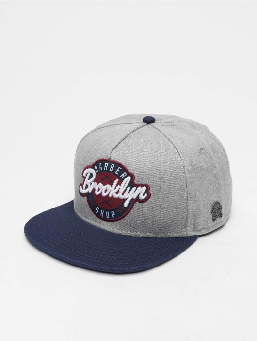 Cayler & Sons Snapback Caps Cl Bk Barber šedá