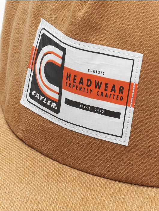Cayler & Sons Snapback Caps CL Builders Choice bezowy