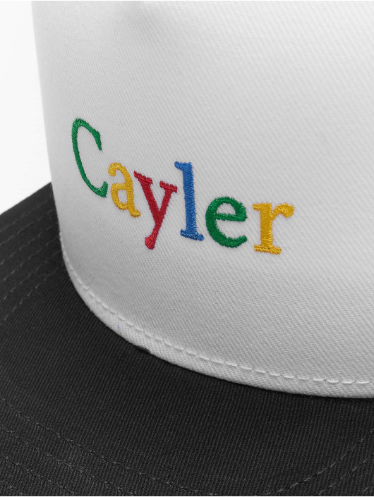 Cayler & Sons Snapback Caps WL Search N Destroy bialy