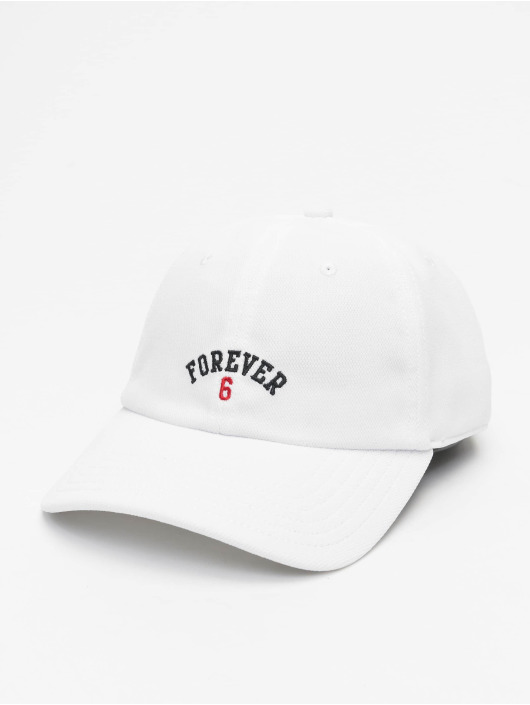 Cayler & Sons Snapback Caps WL Forever Six Curved bialy