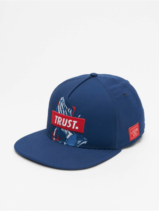 Cayler & Sons Snapback Caps WL Retro Trust blå