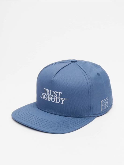 Cayler & Sons Snapback Caps WL Trust Nobody Fu blå