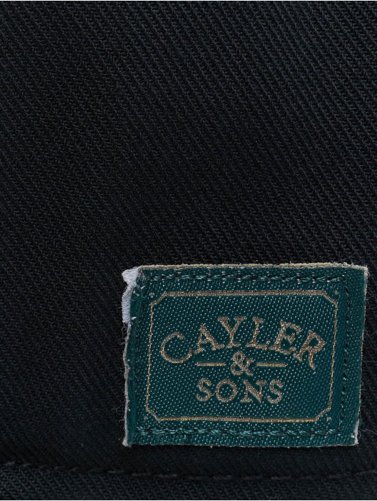 Cayler & Sons Snapback Caps WI Dynasty czarny
