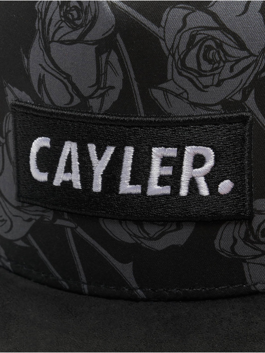 Cayler & Sons Snapback Caps WL Statement czarny