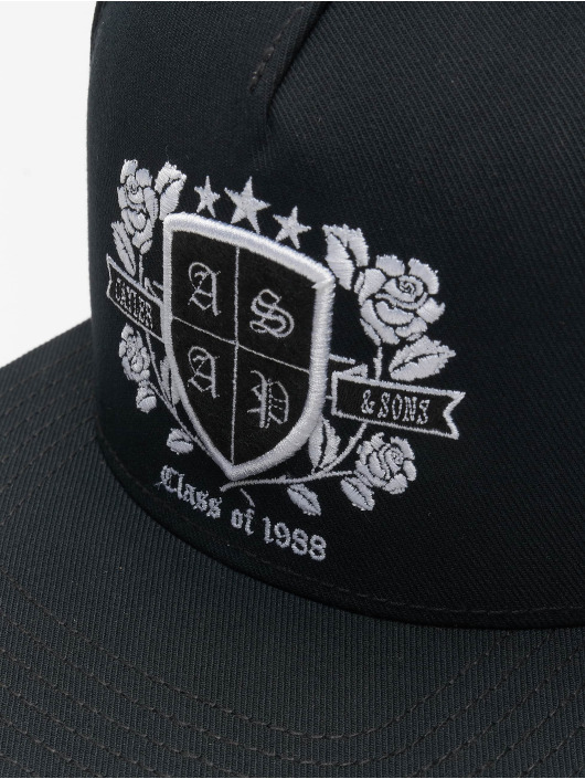 Cayler & Sons Snapback Caps WL Harlem Class czarny