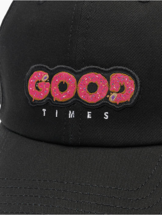 Cayler & Sons Snapback Caps WL Munchies Times Curved czarny