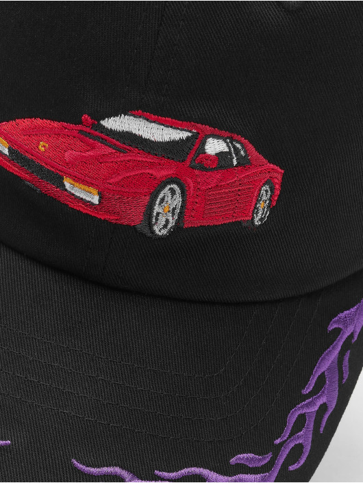 Cayler & Sons Snapback Caps WL Ride Or Fly Curved czarny