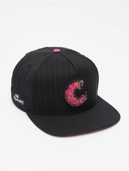 Cayler & Sons Snapback Caps WL Los Munchos Pinstripe czarny