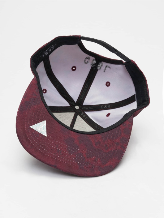 Cayler & Sons Snapback Caps Blackletter czerwony