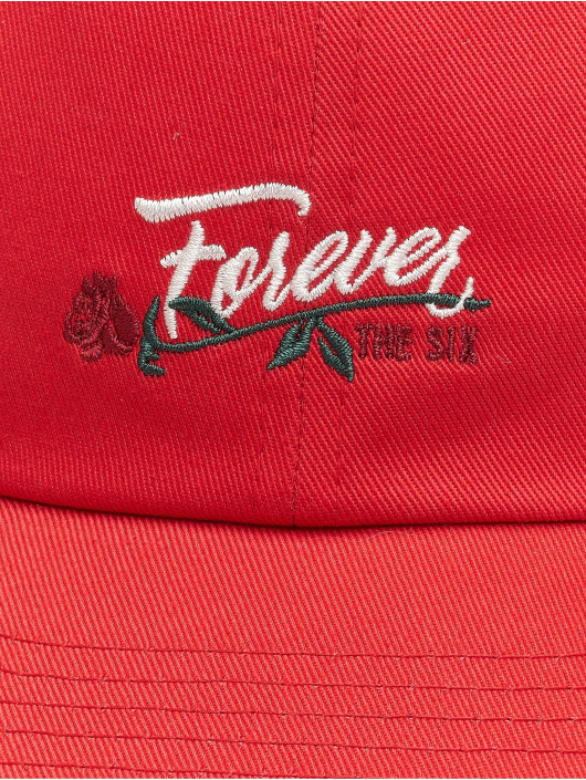 Cayler & Sons Snapback Caps WL Six Forever Curved czerwony