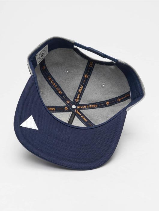 Cayler & Sons Snapback Caps Cl Bk Barber grå