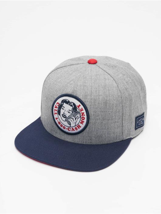 Cayler & Sons Snapback Caps WL Money Call harmaa