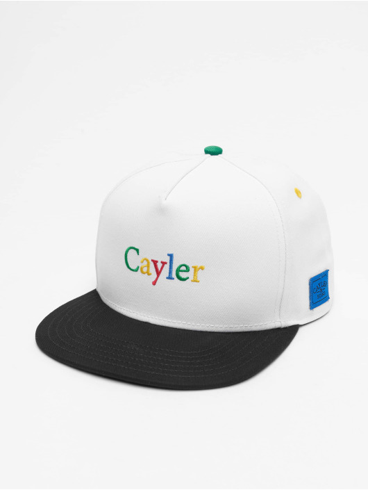 Cayler & Sons Snapback Caps WL Search N Destroy hvit