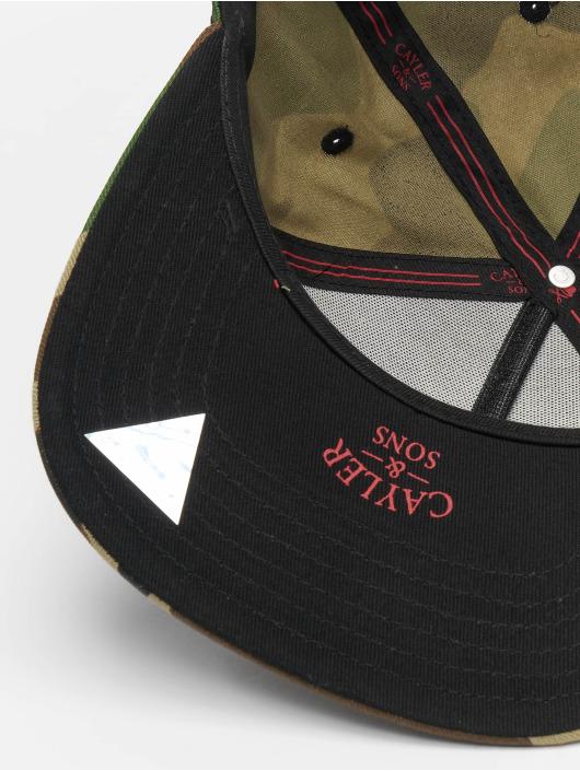 Cayler & Sons Snapback Caps Seriously kamuflasje