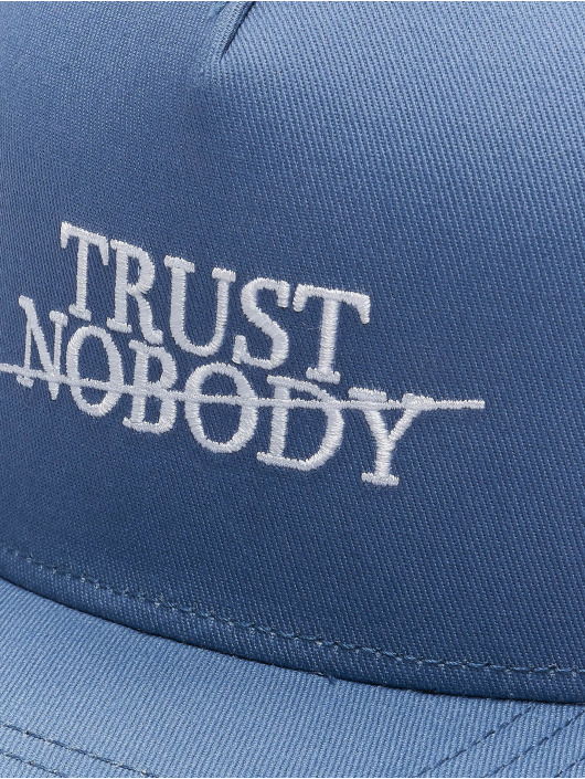 Cayler & Sons Snapback Caps WL Trust Nobody Fu modrý