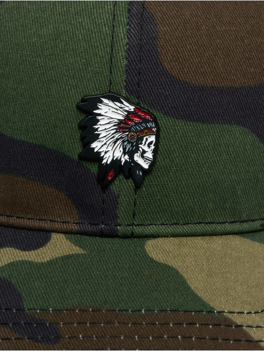 Cayler & Sons Snapback Caps Freedom Corps Curved moro