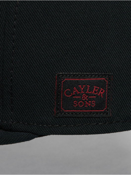 Cayler & Sons Snapback Caps Wl Bk Flight musta