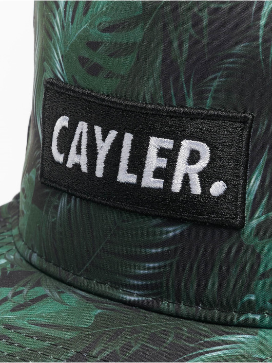 Cayler & Sons Snapback Caps Green Jungle musta