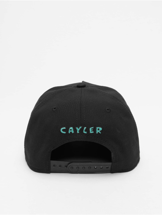 Cayler & Sons Snapback Caps WL Northern Lines musta