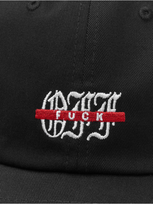Cayler & Sons Snapback Caps WL F Off Curved musta