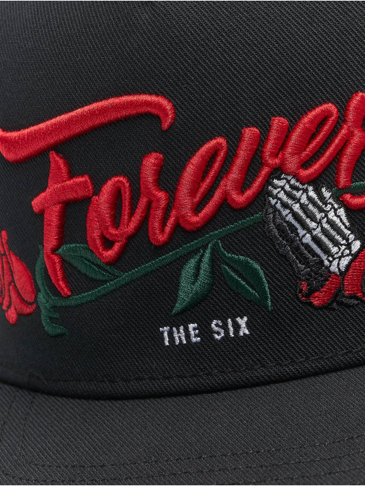Cayler & Sons Snapback Caps WL Six Forever musta