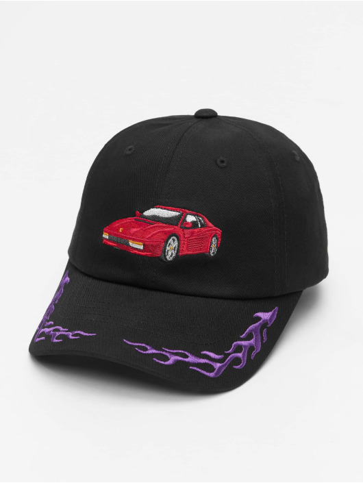 Cayler & Sons Snapback Caps WL Ride Or Fly Curved musta